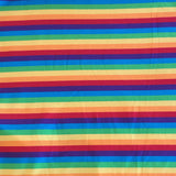Yarn Dyed Rainbow Stripes