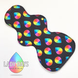 "15"" Jersey Luxe Sleeper Cloth Pad - Heavy Night - Lady Days Cloth Pads"