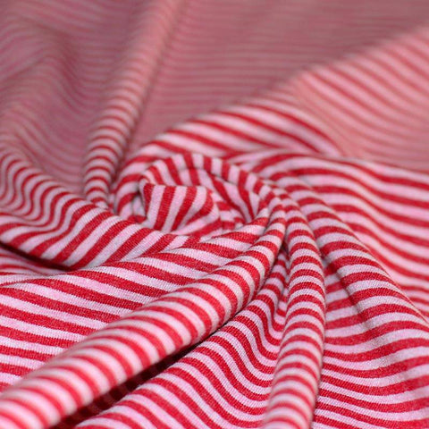 Red And Pink Striped Scrundies