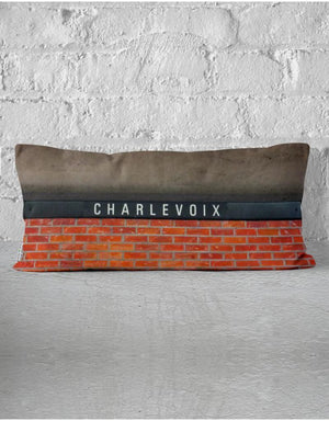 Coussin Charlevoix / Georges-Vanier