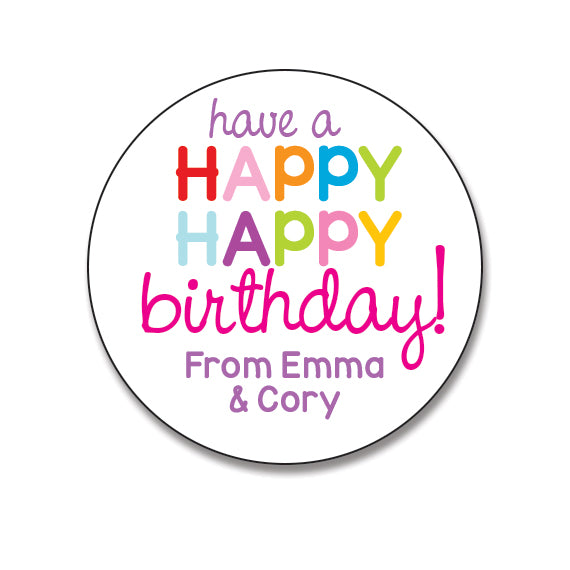 Have A Happy Birthday Sticker