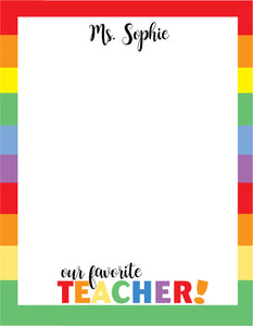 Rainbow Teacher Pad