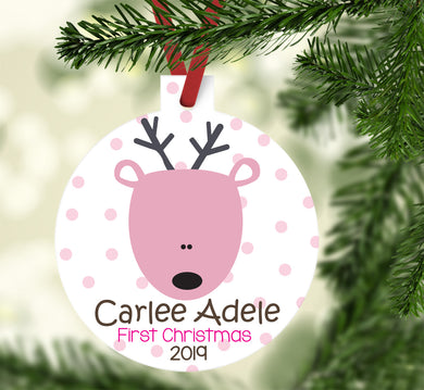 New Baby Deer Ornament for Girl