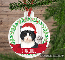 Load image into Gallery viewer, Cat Christmas Ornament (5 breeds)