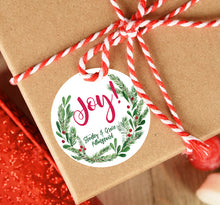 Load image into Gallery viewer, Joy Wreath Sticker