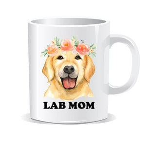 Lab Mom Coffee Mug