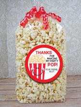 Load image into Gallery viewer, Popcorn Birthday Sticker
