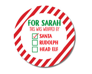 Santa's Workshop Stickers