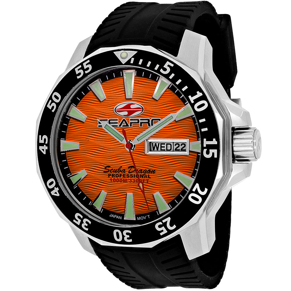 Men's 1000 Meters Scuba Dragon Diver Limited Edition