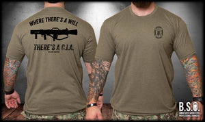 There's The CIA Carl Gustav Shirt