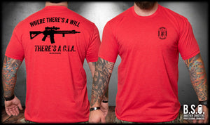 There's The CIA Rifle Shirt
