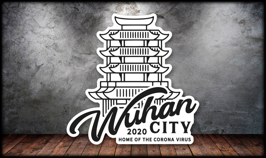 Wuhan 2020 Sticker