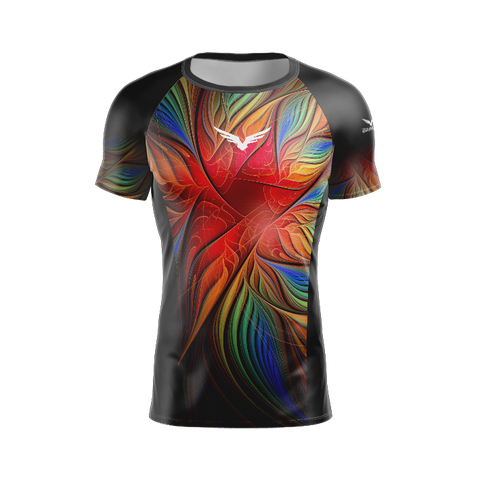Rashguard Manga Curta - Tropical