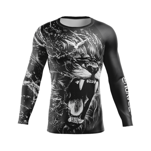 Rashguard Lion Black