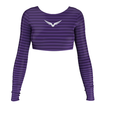 Cropped - Basic Lines Roxo