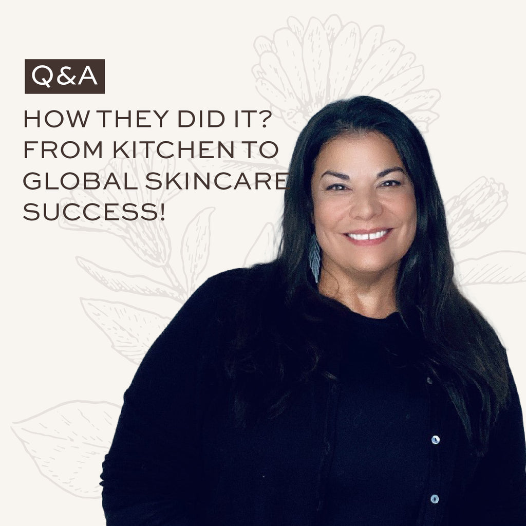 How they did it? From kitchen to global skincare success!