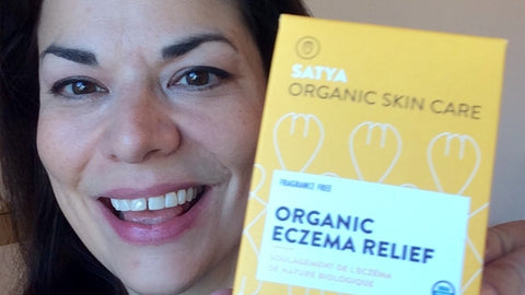 Entrepreneur Patrice Mousseau created Satya Organic Eczema Relief for her daughter, who she didn't want using steroid creams to treat her skin condition. (Supplied)