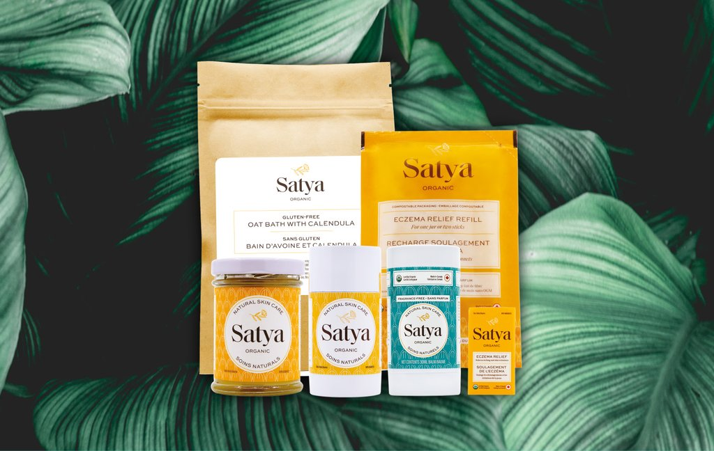 Satya Organic Eczema Relief™ is here to soothe your eczema, and relieve dryness, itch and inflammation