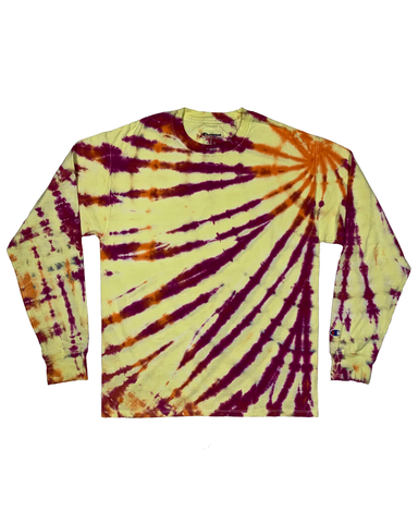 SUGAR AND HONEY Longsleeve Tie-Dye Shirt