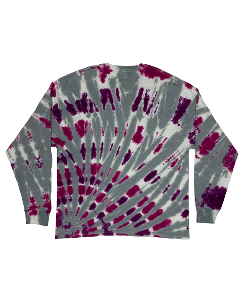 PURPLE HAZE Longsleeve Tie-Dye Shirt