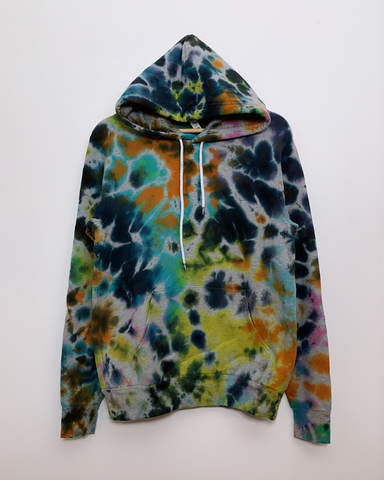 IT'S TIME TO PARTY Pullover Tie-Dye Hoodie