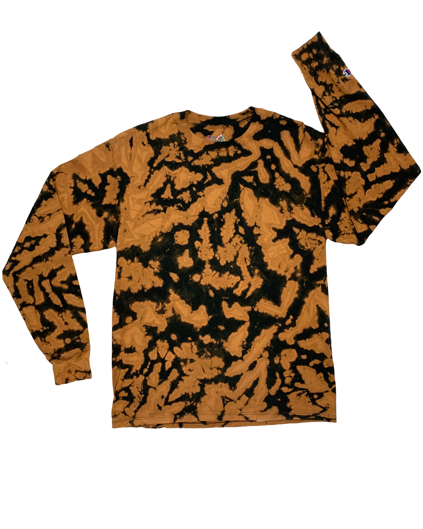 PET CHEETAH Longsleeve Tie-Dye Shirt