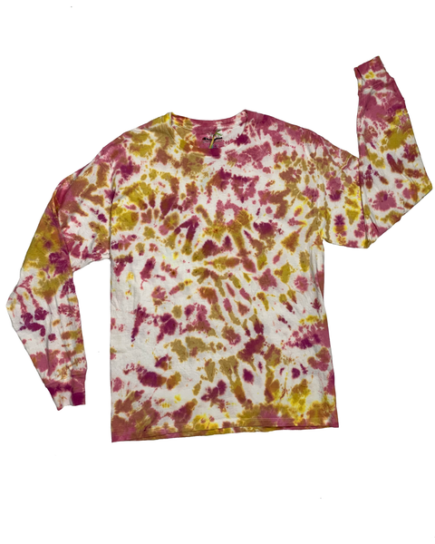 KISS FROM A ROSE Longsleeve Tie-Dye Shirt