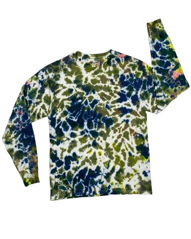 GARDEN PARTY Longsleeve Tie-Dye Shirt