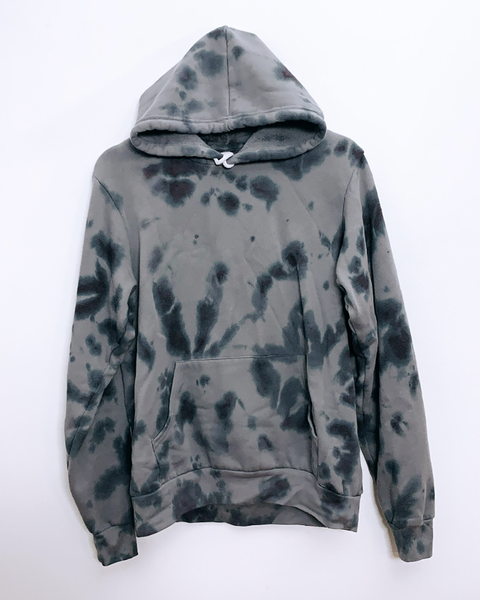 TOUCH OF GREY TIE-DYE PULLOVER