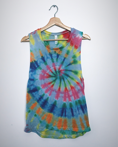 IN THE GARAGE Tiedye Tanktop
