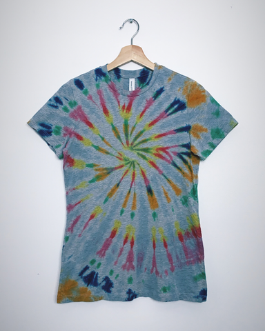 IN THE GARAGE Tiedye T-Shirt