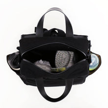 Laden Sie das Bild in den Galerie-Viewer, ALVIN BLACK diaper backpack