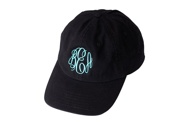 Monogrammed Comfort Colors Baseball Hat