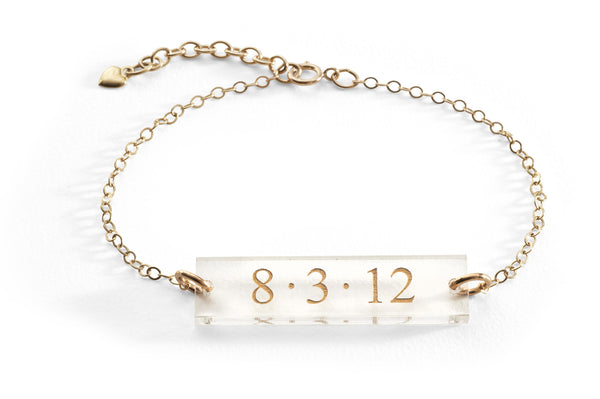 Brockton Engraved Bracelet