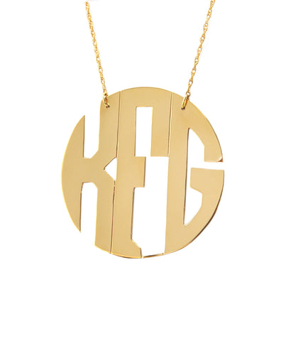 Hampton Monogram Necklace