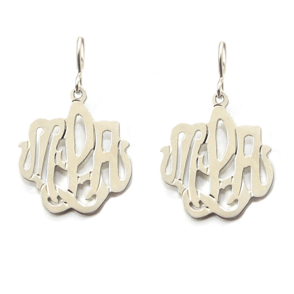 Monogram Drop Earring