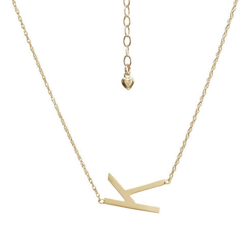 Metal Varsity Necklace