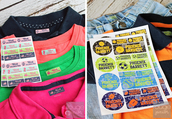 Cheetah Waterproof Label Combo Set