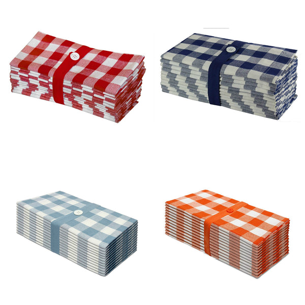 Set of 6 Buffalo Check Dinner Napkin