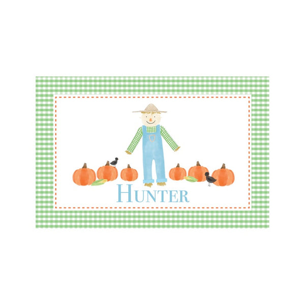 Personalized Fall Reversible Placemat