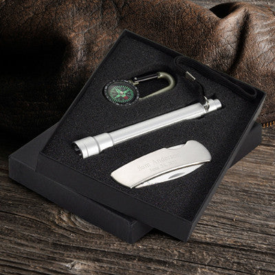 Sportsmen's Gift Set Engraved