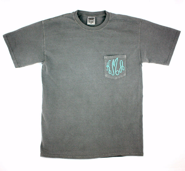 Grey Comfort Colors T-shirt