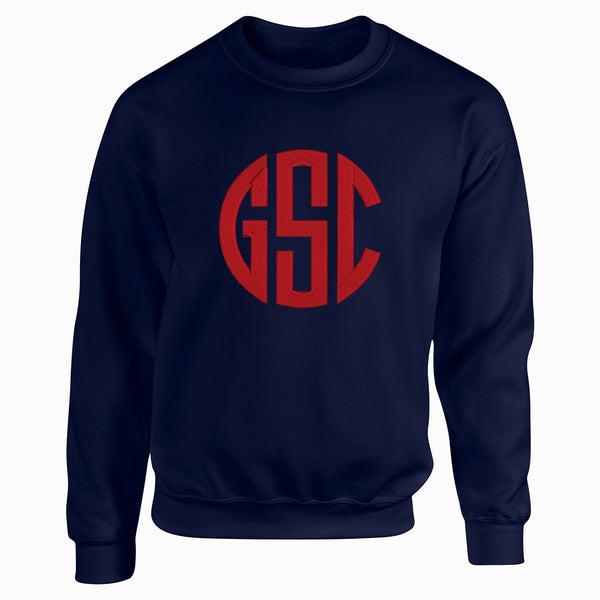 Pullover with Large Monogram
