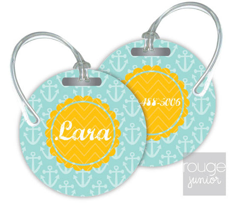 Design Your Own Luggage Tag Anchor