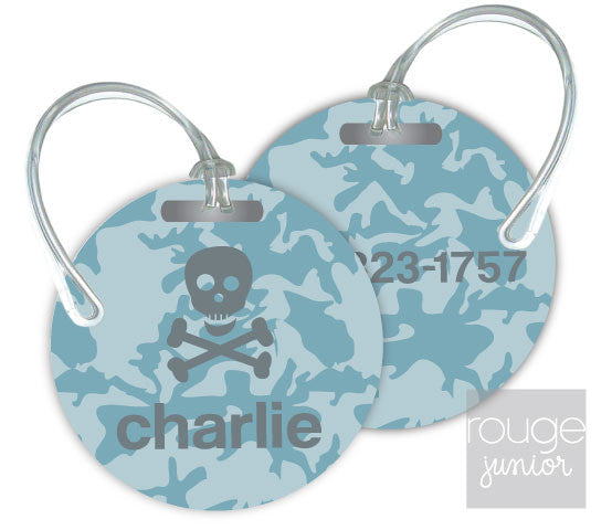 Design Your Own Luggage Tag Camo