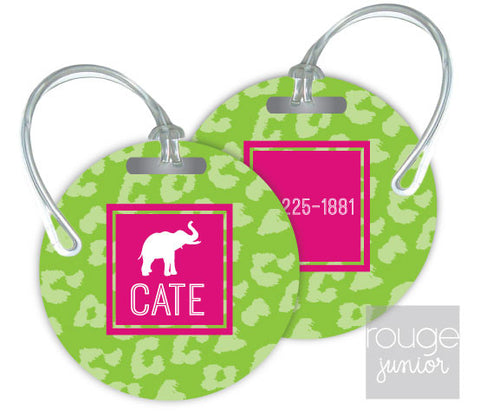 Design Your Own Luggage Tag Cheetah