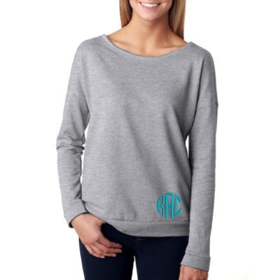 Heather Gray French Terry Raglan