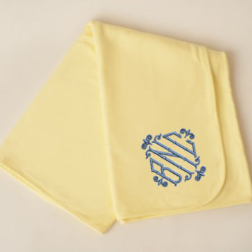 Yellow Baby Blanket