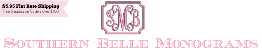 Southern Belle Monograms