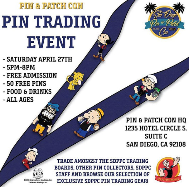 Pin Trading Event